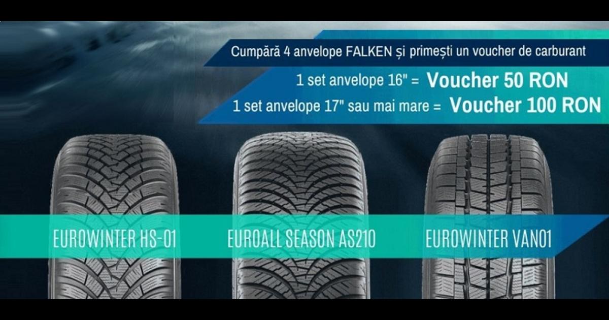 Promotie Anvelope Iarna Si All Season FALKEN