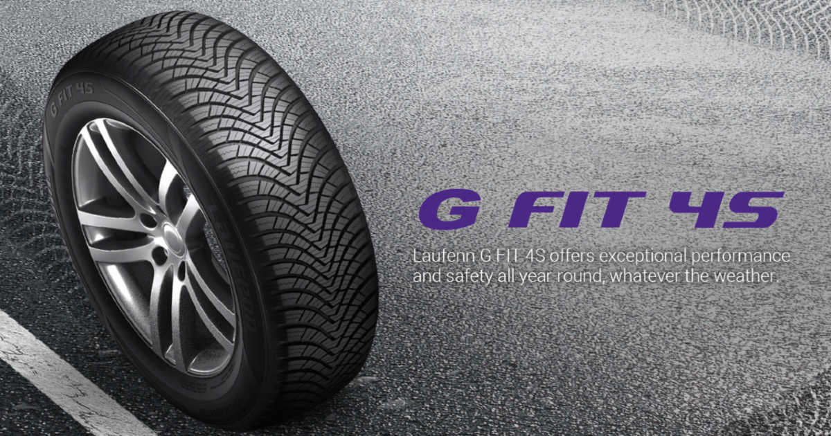 Nou In Gama €� Anvelope All Season Laufenn G Fit 4S (Hankook)